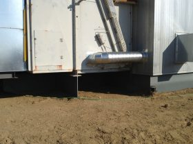 Building-Air-Intake-Duct
