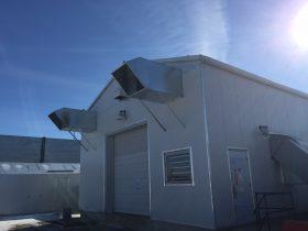 Calmar Booster Station – Fan Silencers