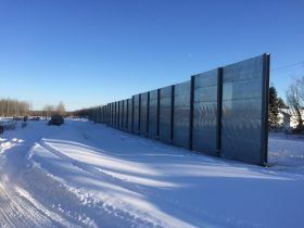 SAI-100 Pembina Barrier Wall 1