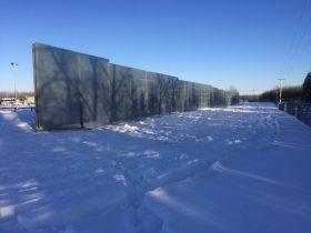 SAI-100 Pembina Barrier Wall